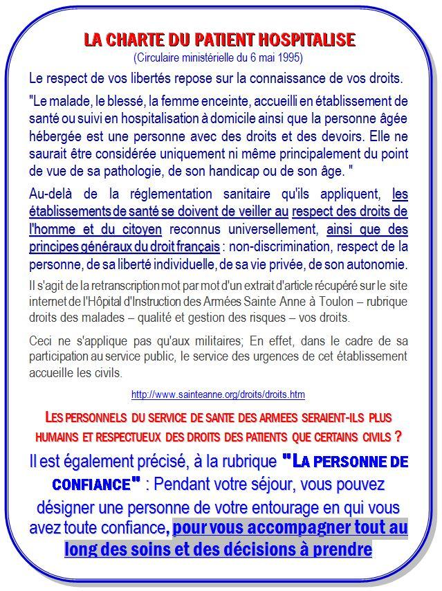 HIA Toulon droits