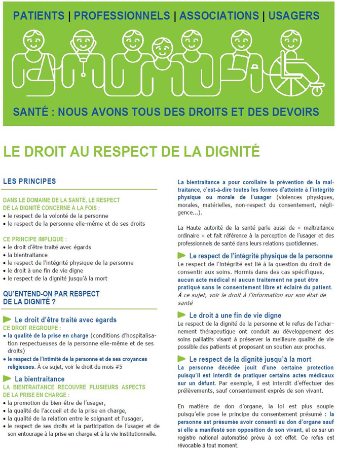 respect dignité ARS PACA